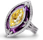 Purple Amythst Ring